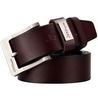 animal skin belt - Newest Classic Jeans Men s Gift Genuine Real Leather Cow Skin Pin Buckle Belt Casual High Qality Boda Bridge Groom Luxury Gift