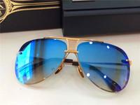 steampunk - dita sunglasses dita decade two men brand designer sunglass steampunk style with blue case limited eidtion coating mirror lens
