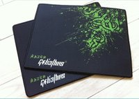 Wholesale With Not Box Packed Raze Goliathus Gaming Mouse Pad mm Locking Edge Mouse Mat Speed Version Wrist Rests GY