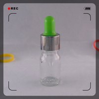 Wholesale Colorful Optional Empty Mini Needle Tip Nail Polish Bottle Small Nail Art Container Empty Glass Bottles Childproof Cap
