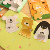 Wholesale animals memo pad paper sticker post it sticky notes kawaii stationery papelaria school supplies BLT
