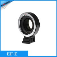 aps adapter - NEW Viltrox EF E Auto focus AF Mount Lens Adapter Focal Reducer Booster Adapter for Canon EF to Sony E mount APS C Camera
