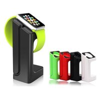 Wholesale 2016 New Arrival Stand Holder Charger Cord For Apple Watch Dock Docking Station Desktop stand For i Watch mm mm