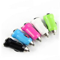 adapter portable - Car Charger for Iphone Charger Portable Mini Phone Charger Micro Single USB Adapter USB Port for Iphone Samsung S4 S5 HTC