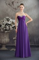 Wholesale Cheap Dress Fast Shipping - 2016 Black Blue Burgundy Red Green Purple Chiffon Cheap Bridesmaid DressesProm Long Vestido De Festa Fast Shipping