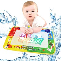 Wholesale Baby color Water Drawing Toys doodle Mat Magic Pen Water Drawing Board