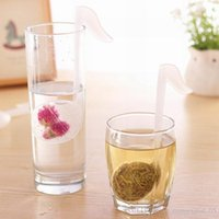 Wholesale colorful genuine premium silicone note reusable tea ball infuser strainer steeper set for loose leaves herbal teas great gift