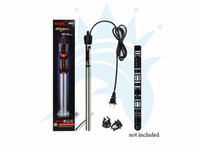 Wholesale 50W W W W W Fish Tank Aquarium Stainless Steel Heater Automatic Heaters with Protective Case Drop Shipping cm Length