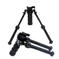 Wholesale Drss CNC Making BT10 LW17 V8 Atlas degrees Adjustable Precision Bipod With QD Mount And Metal Grip For Hunting