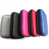 Noir dur Carry Case Housse pour 2.5 USB HDD WD External Hard Disk Drive Protector Protéger Sac boîtier