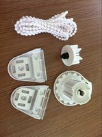 Wholesale mm roller Clutch one control idler with Brackets with covers Complete Set For Regular Roller Shades mechanism