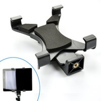 apple ipad tripod - Universal Tablet Tripod Mount Holder Adapter for Replacement Clip Attachment with Inch Thread for Apple iPad Monopod Sefie Sticks