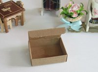 Wholesale 8 cm Handmade soap packaging paper boxes Corrugated gift boxes Paper packaging