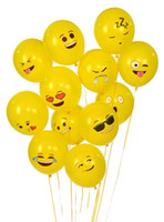 best face packs - 12 Different Emoji Smiley Face Latex Balloons Best Birthday Party Decorations For Kids Pack