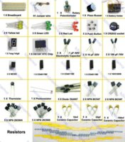 automotive resistors - Electronic Project Starter Kit breadboard Resistors Capacitor led cable for arduino capacitor automotive cable decoder cable decoder
