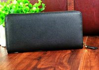 best bow brand - classic brand designer genuine leather zipper wallet for women best price hot selling