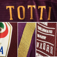 Wholesale Match Worn Totti Dzeko EI Shaarawy Nainggolan Salah Perotti Player Issue Custom Soccer patch