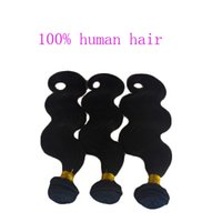 best body scales - Virgin Brazilian Human Hair Extensions Malaysian Human hair Weft Keep scale body wave Natural Color Hair A Best quality