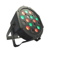 Wholesale cheap Plastic stage light p W RGB Led Flat Par Lighting for Club DJ Stage Party KTV Disco DMX Control