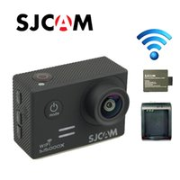 Wholesale Original SJCAM SJ5000X Elite Waterproof WiFi K fps K fps Gyro Sports Action Camera Battery Charger Extra Battery