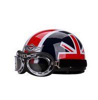 Wholesale 2016 New Summer half face motorcycle helmet sunscreen UV electric bicycle motorbike Harley style helmet men Four Seasons ABS FREE SIZE