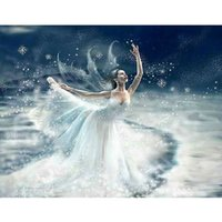 ballet stitch kit - HWE Ice Ballet d Diy Diamond Painting home decor Cross Stitch kits mosaic Diamond Embroidery Painting gift X35CM