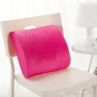 Wholesale Lumbar Roll Mckenzie Lumbar Roll Lumbar Pillow McKenzie Original Lumbar Roll Support Cushion Back Pain D Shaped FIRM DENSITY
