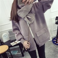 Wholesale The new knitting cardigan sweater coat institute of spring wind spring dress XueShengChao clothes in early spring