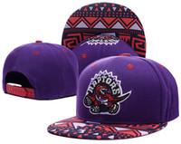 Wholesale Toronto Adjustable Raptors Lowry DeRozan Snapback Hat Thousands Snap Back Hat Basketball Cheap Hat Adjustable men women Baseball Cap