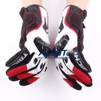 Wholesale Hot Sale RS TAICHI Motorcycle Gloves Carbon Sport Racing gloves Armed Leather Mesh off road gloves Can touch screen