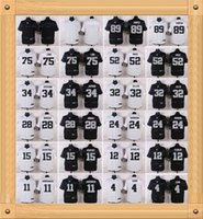 Wholesale NIK Elite Football Stitched Raiders Jackson Joseph Mack Howie Long Amari Cooper Black White Elite Jerseys Mix Order