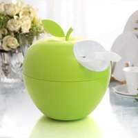 Wholesale 2016 new LOOKBACK apple box Creative Desktop toilet roll box paper towels are exported to Europe and the United States