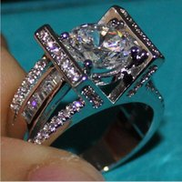 Cheap 925 Sterling Silver Round Simulated Diamond CZ Side Stone Wedding Band Ring Jewelry for Men SZ 5-10