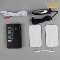 adult bipolar - Adult Estim Electrosex Gear Set Adhesive Pads Clitoris Clip Bipolar Electro Anal Plugs Sex Toy for Men and Women