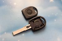transponder key blank - 30pcs VW Transponder Key Shell Case Car Key Blank for Volkswagen Passat B5