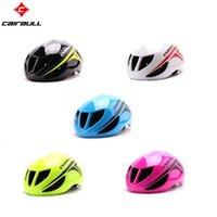 bicycle race track - CAIRBULL Hot New Aero Professional Road Racing Bike Helmet Ultralight TT Track Bicycle Helmet Adult Men and Women Cycling Helmet