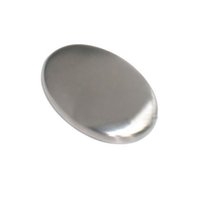 bath bar soap - Stainless Steel Soap Oval Shape Deodorize Smell From Hands Retail Magic Eliminating Odor Kitchen Bar Bath Soap
