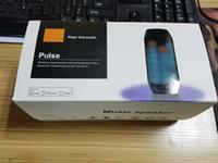abramtek bluetooth speaker - Wireless Bluetooth speakers For PULSE Portable Mini Speaker Streaming Colorful LED Lights Hifi TF Card Top Quality Original package