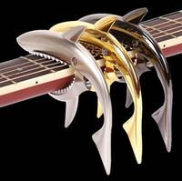 Wholesale Good quality Folk guitar capo shark capo guitar accessories