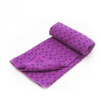 Wholesale Non Slip Yoga Mat Cover Towel Blanket Exercise Sport Fitness Exercise Pilates Workout Yoga Blanket