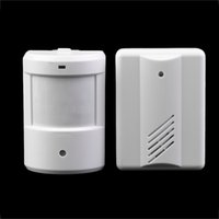 Wholesale car New Driveway Patrol Garage Infrared Wireless Doorbell Alarm System Motion Sensor Home Security Alarm Motion Sensor hot selling
