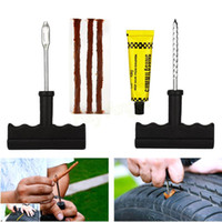tire repair tools - Car Tool Kit Car Bike Auto Tubeless Tire Tyre Plug Repair Tool Kit Safety Type Tubeless Tire Repair Kit Car Accessories