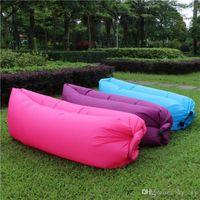 Wholesale original Lazy Hangout inflatable sleep Bag Inflatable Air Sleeping Bags Sofa hangout lamzac laybag inflatable banana sleeping bags