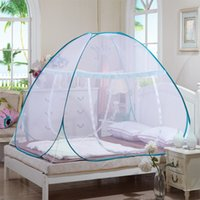 Wholesale Hot Sales Rio Olympic Games Mosquito Net with Polyester Blue and Pink Mosquito Bar Mosquito Curtain