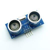 Wholesale HC SR04 Ultrasonic Module Ultrasonic Sensor HCSR04 Distance Measuring Module for PICAXE Microcontroller Arduino UNO HC SR04