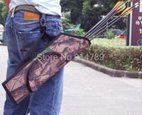 archery supply - BOW BAG SHOULDER ASLANT ARROW QUIVER BUNDLED PROCESSING ARCHERY SUPPLIES POUCH REAL TREE CAMO