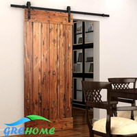 Wholesale 4 FT FT FT carbon steel barn wood sliding doors hardware track