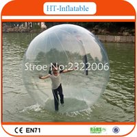 Wholesale 2016 High Quality Inflatable Water Walking Ball Water Zorb Ball Human Hamster Ball For Sales