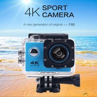 Wholesale gopro hero style Action camera F60 Ultra HD K WiFi Underwater M Sports Camera quot LCD p fps Camera Car Recorder