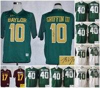 baylor bears jersey - A Football Baylor Bears Rebort Griffin III Michigan State Spartans Max Bullough Mississippi State Bulldogs Russell signed jersey